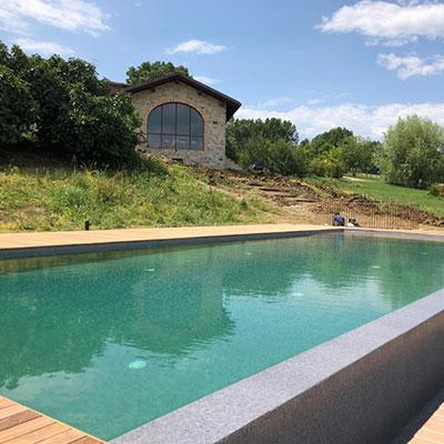 CAZZOLA | ristrutturazione barchessa e piscina